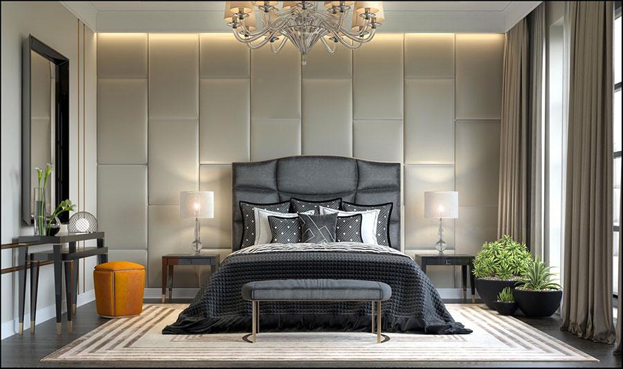 Idee per arredare camere da letto classiche moderne 16