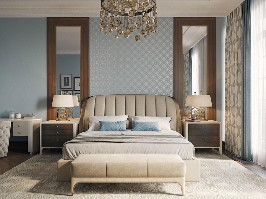 Idee per arredare camere da letto classiche moderne 21