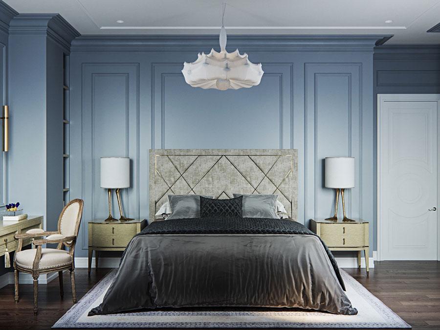 Idee per arredare camere da letto classiche moderne 22