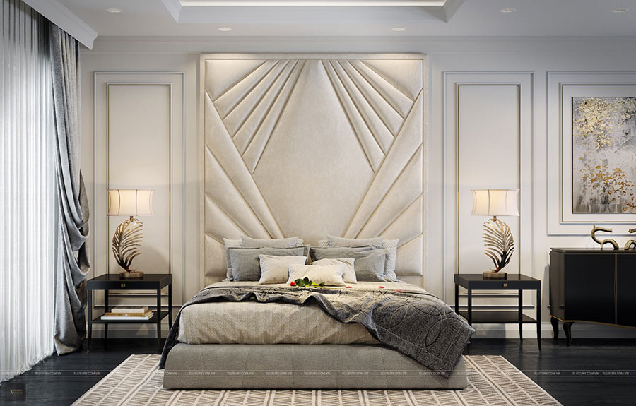 Idee per arredare camere da letto classiche moderne 24
