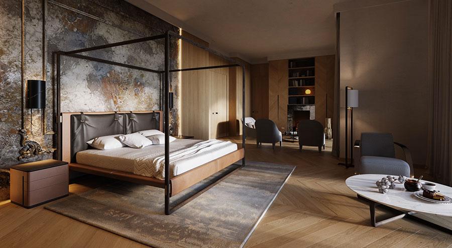 Idee per arredare camere da letto classiche moderne 25