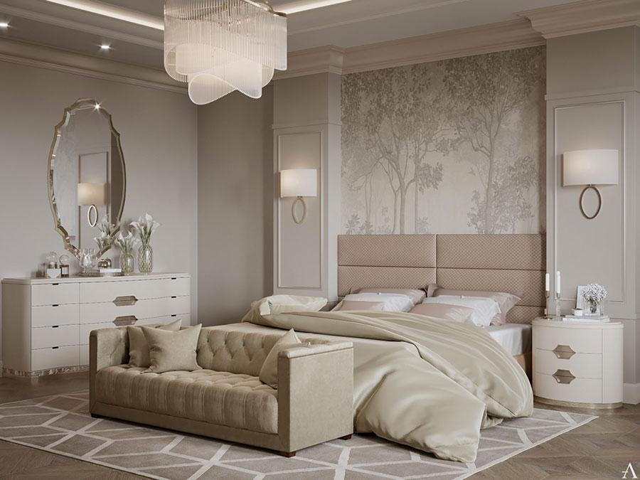 Idee per arredare camere da letto classiche moderne 27