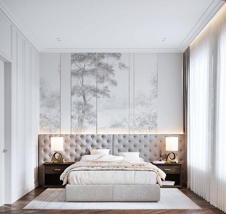 Idee per arredare camere da letto classiche moderne 28