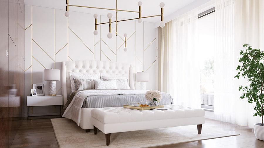 Idee per arredare camere da letto classiche moderne 29