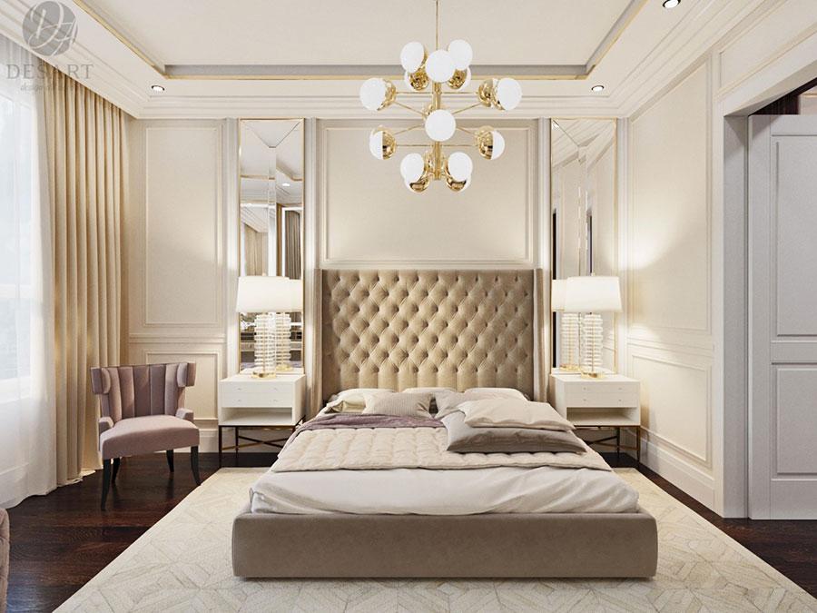 Idee per arredare camere da letto classiche moderne 30