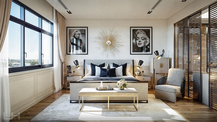 Idee per arredare camere da letto classiche moderne 31
