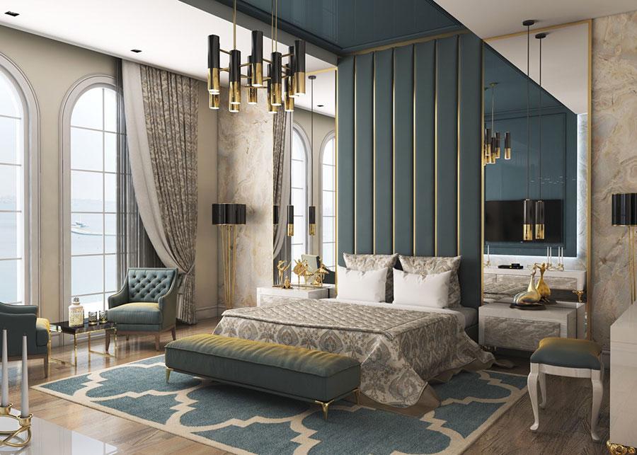 Idee per arredare camere da letto classiche moderne 32
