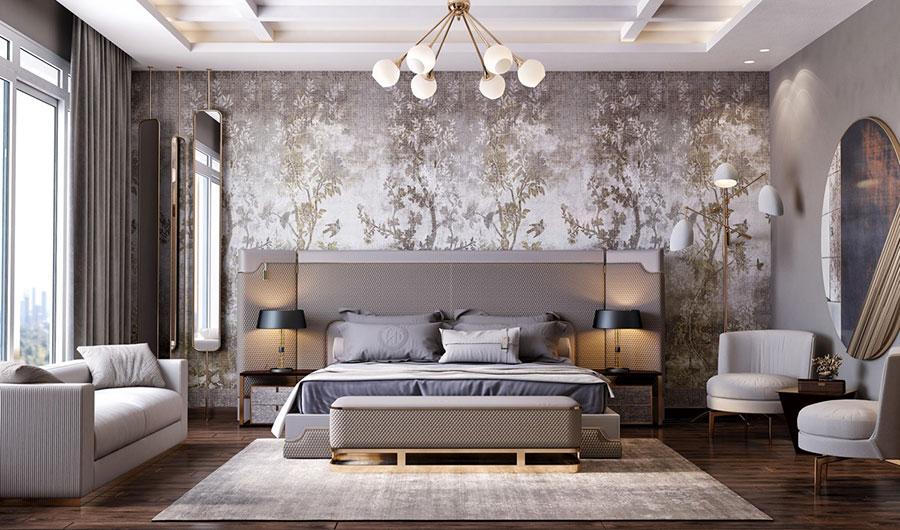 Idee per arredare camere da letto classiche moderne 33