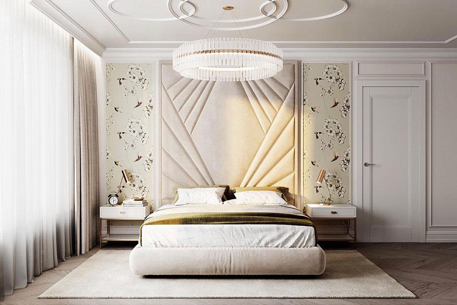 Idee per arredare camere da letto classiche moderne 34