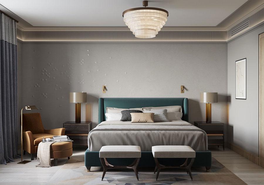 Idee per arredare camere da letto classiche moderne 35