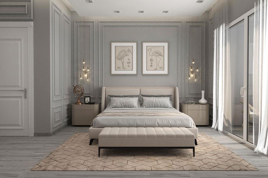 Idee per arredare camere da letto classiche moderne 39
