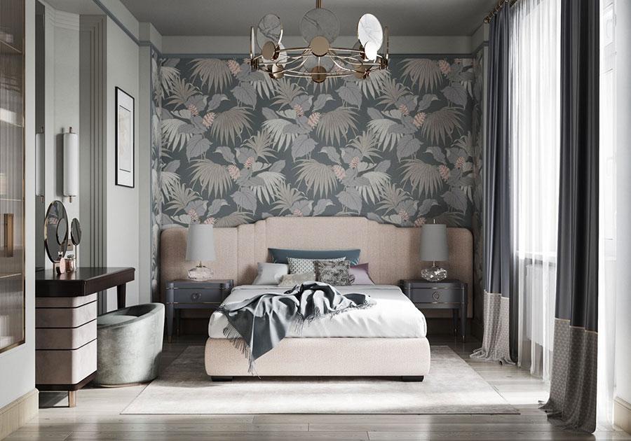 Idee per arredare camere da letto classiche moderne 40