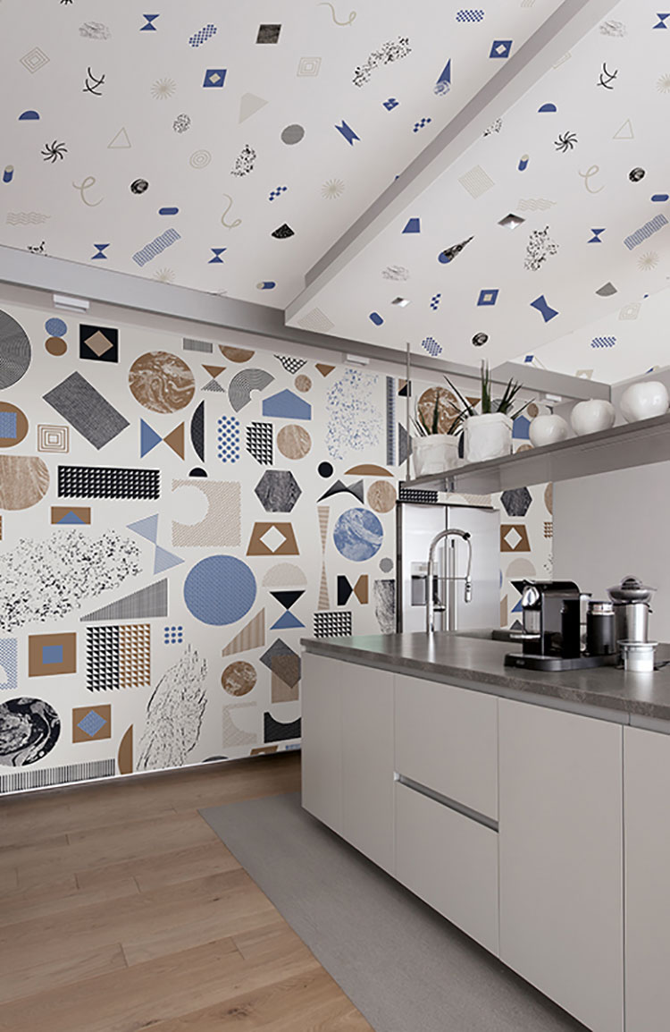 Carta da Parati per Cucina: 35 Idee per Pareti Originali ...