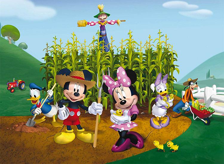 Carta da parati Disney Topolino 02