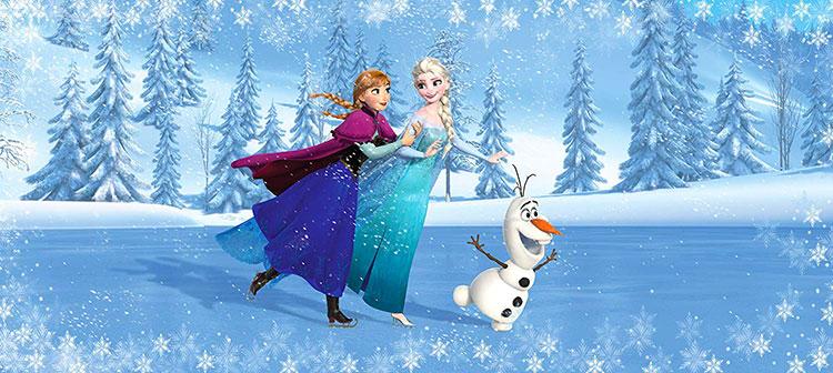 Carta Parati Disney Frozen 14