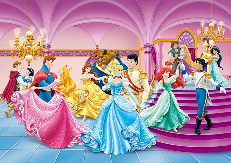 Carta Parati Disney Principesse 16