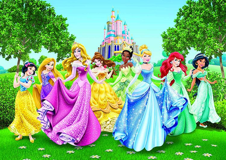 Carta Parati Disney Principesse 17