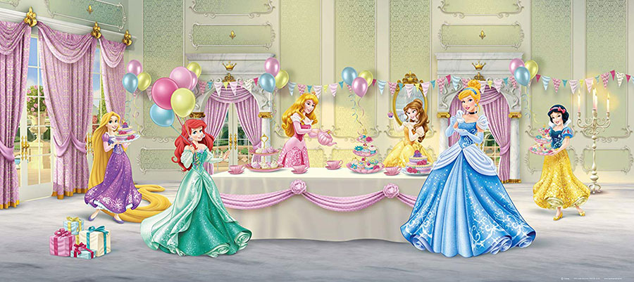 Carta da parati delle principesse Disney