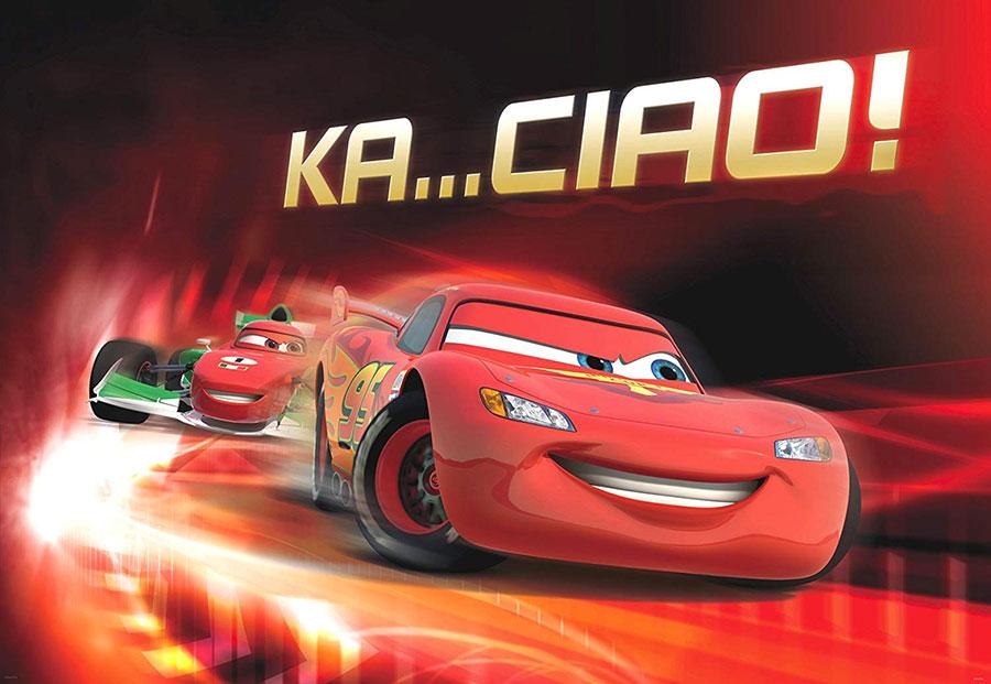 Carta da parati Disney di Cars