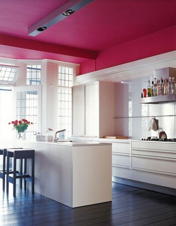 Come utilizzare il color magenta in cucina 2