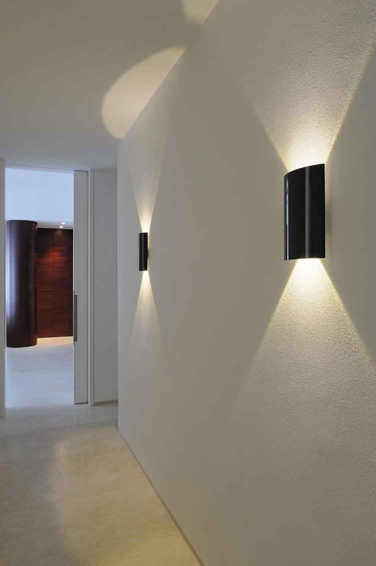 Idee per illuminare il corridoio con gli applique 2