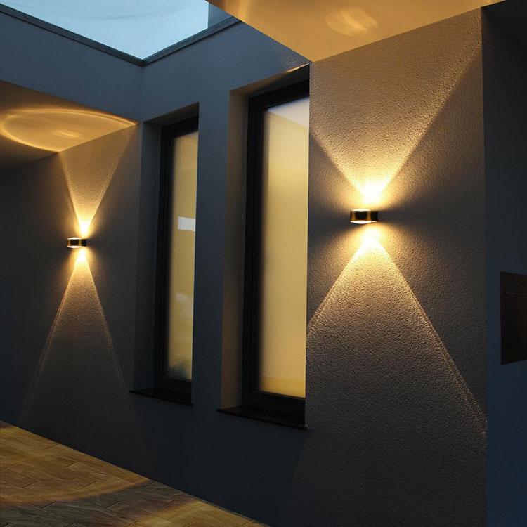 Idee per illuminare il corridoio con gli applique 3
