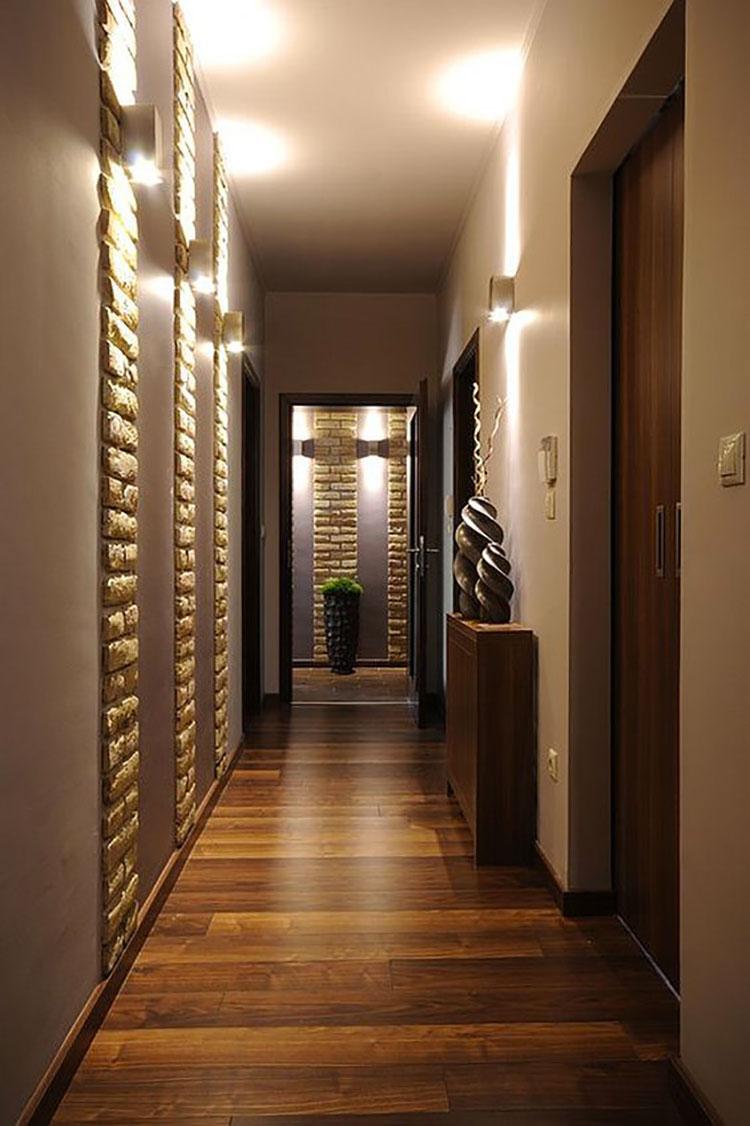 Idee per illuminare il corridoio con gli applique 4