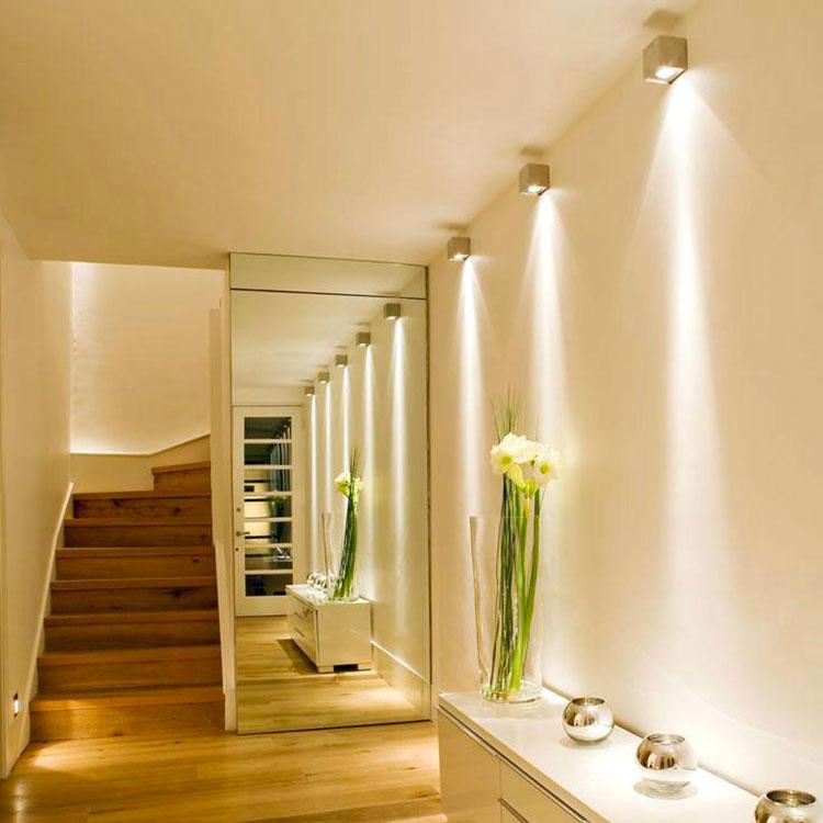 Idee per illuminare il corridoio con gli applique 5