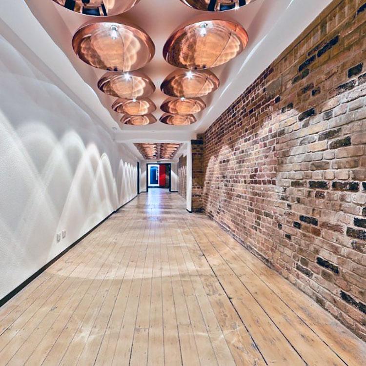 Idee per illuminare il corridoio con gli applique 7