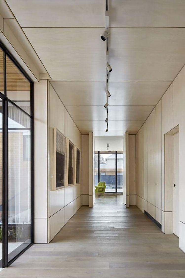 Idee per illuminare il corridoio con i faretti 4