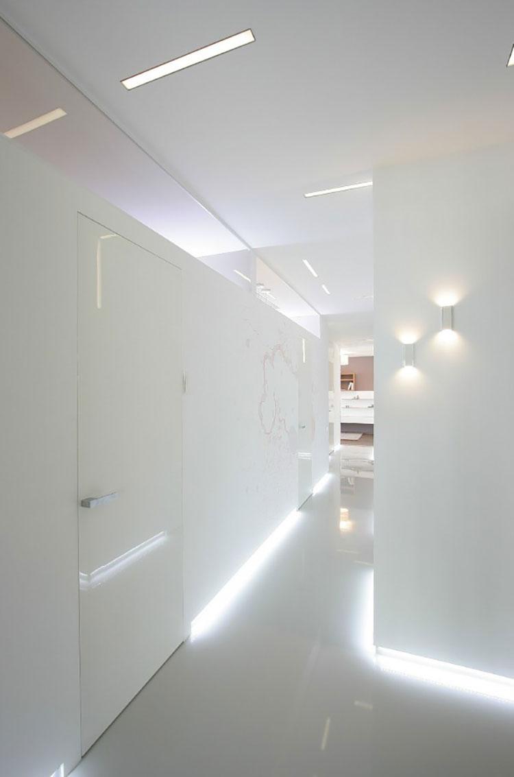 Idee per illuminare il corridoio con i led 4
