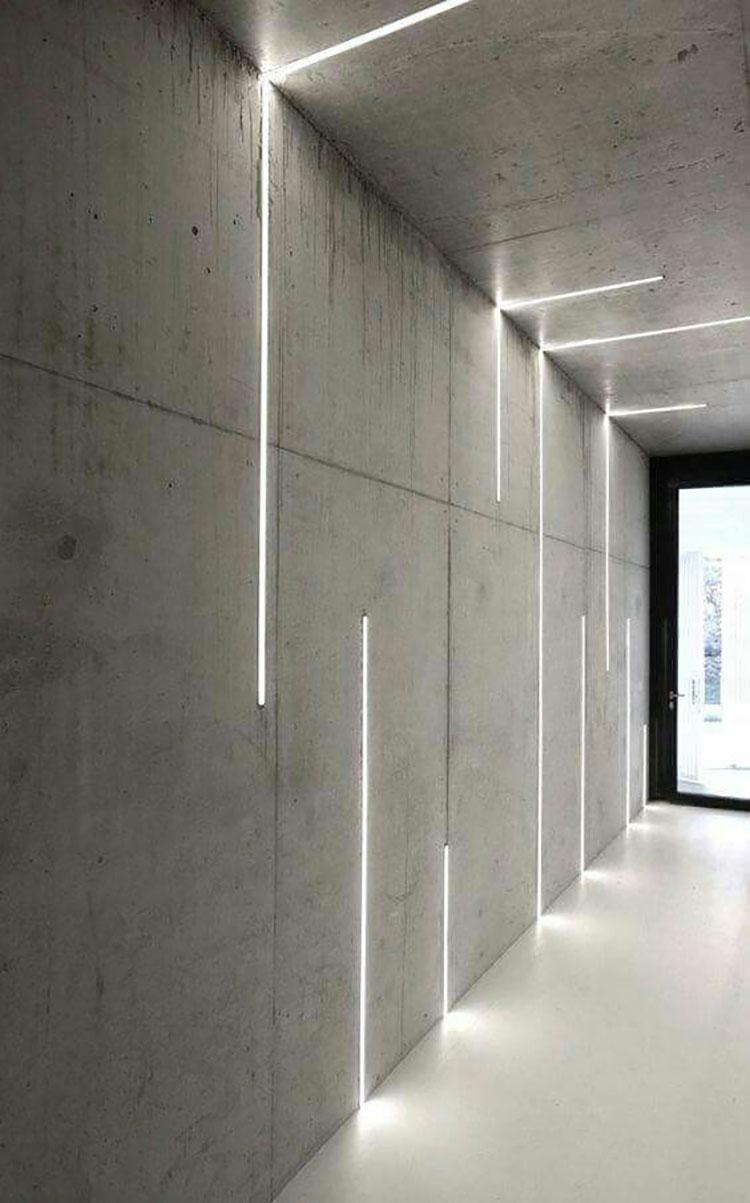 Idee per illuminare il corridoio con i led 5