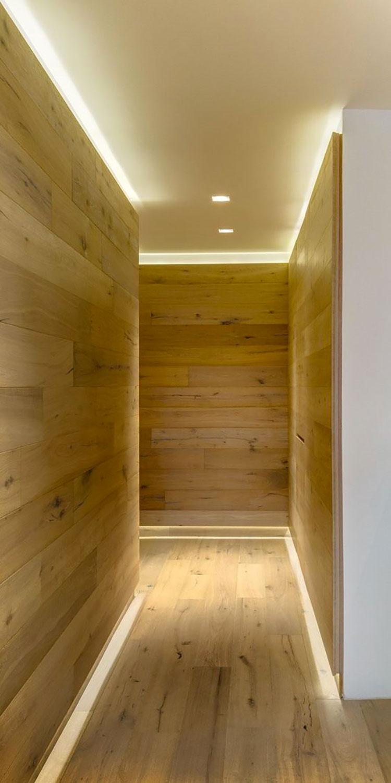 Idee per illuminare il corridoio con i led 7