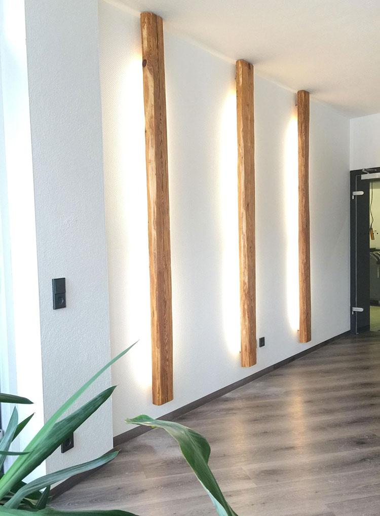 Idee per illuminare il corridoio con i led 8