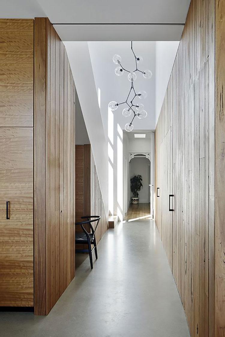 Idee per illuminare il corridoio con i lampade a sospensione 5