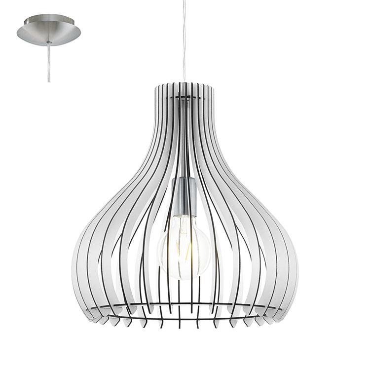 Modello di lampadario vintage industrial n.3