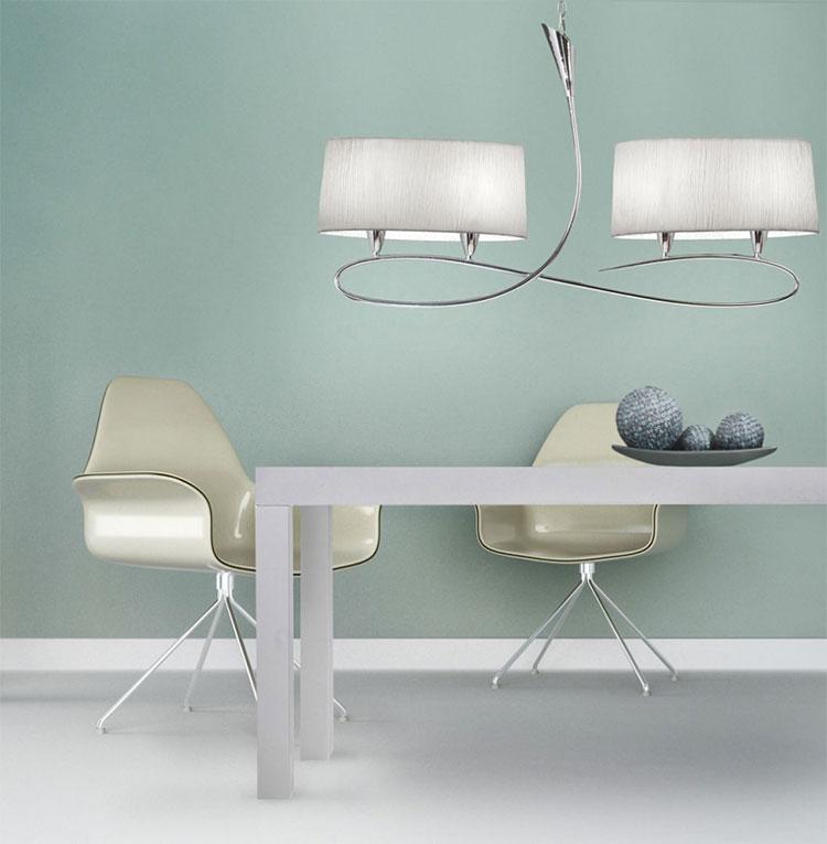 Modello di lampadario classico per la sala da pranzo n.01