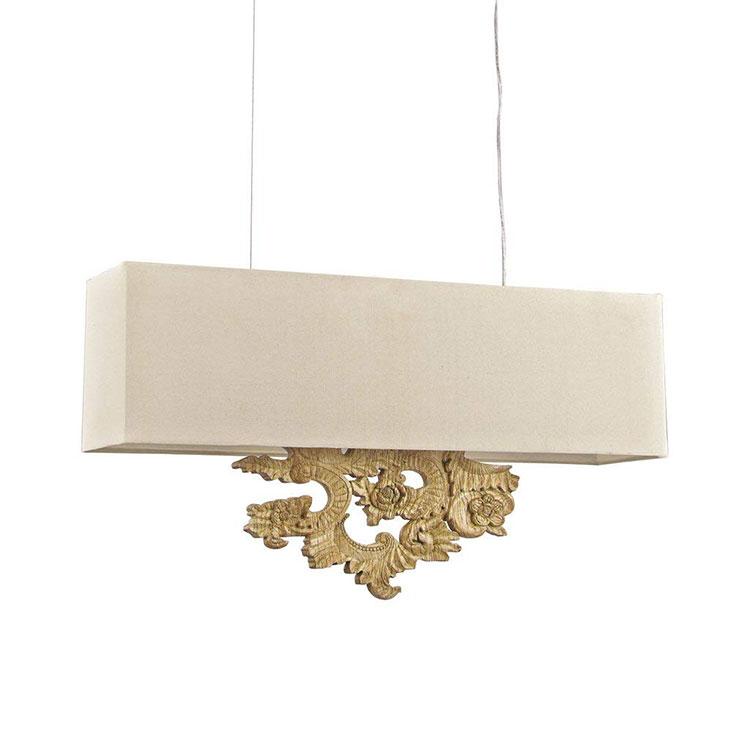 Modello di lampadario classico per la sala da pranzo n.02