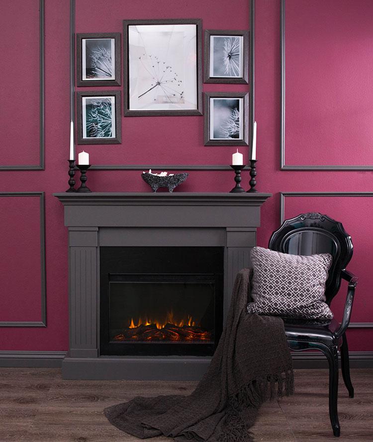 Come utilizzare il color magenta sulle pareti 1