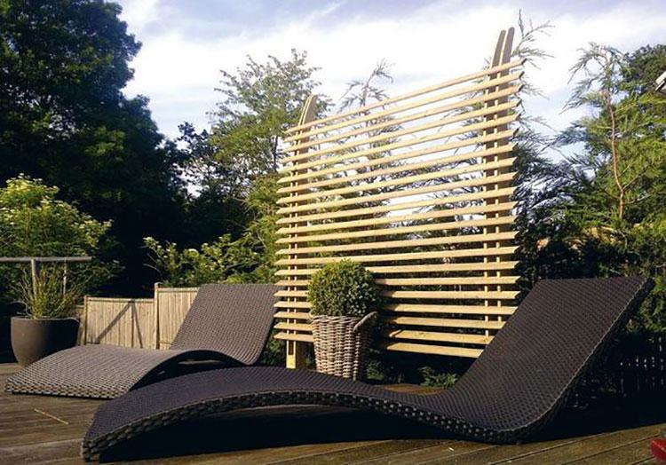Idee per abbellire un terrazzo con elementi di arredo n.3