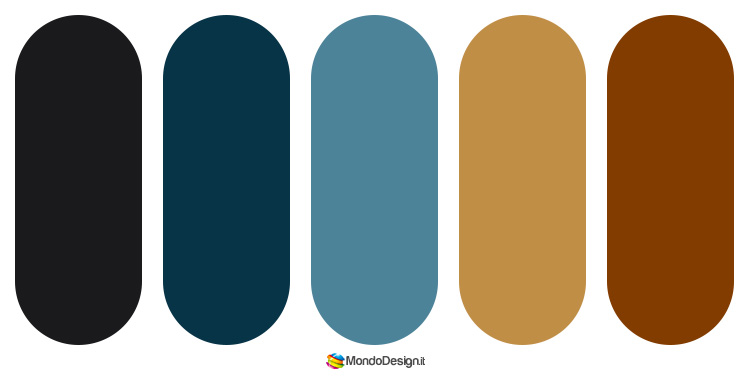 Palette colore indaco 2