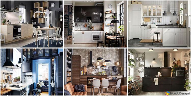 Progetti per piccole cucine Ikea