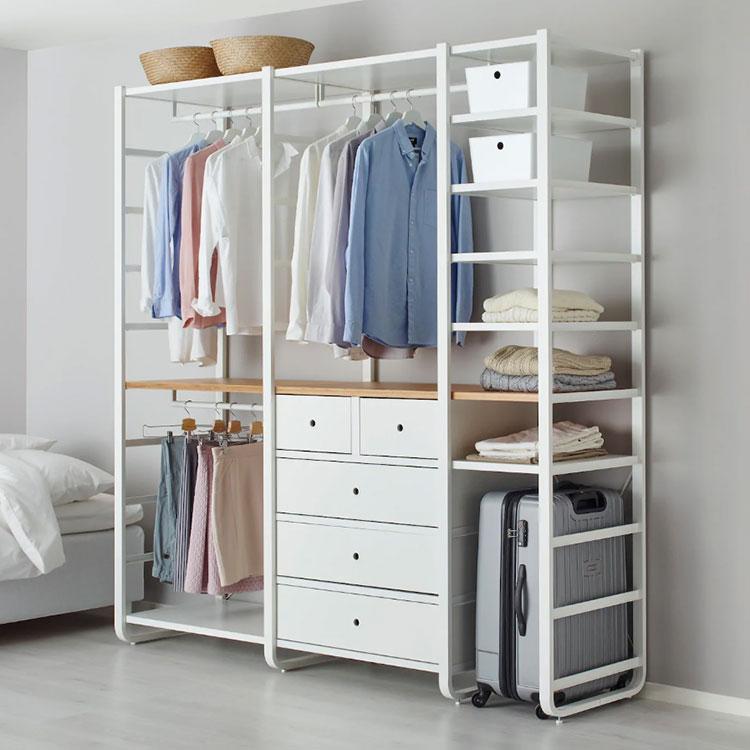 Cabina armadio Ikea con sistema Elvarli n.02
