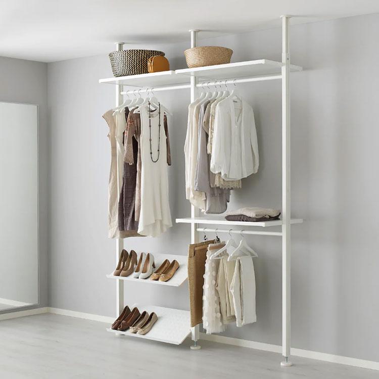 Cabina armadio Ikea con sistema Elvarli n.05