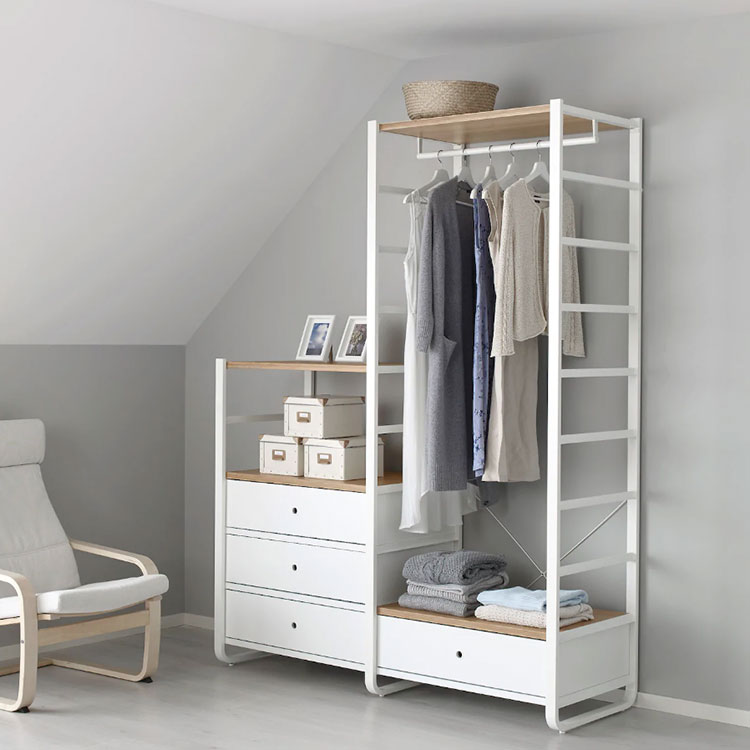 Cabina armadio Ikea con sistema Elvarli n.07