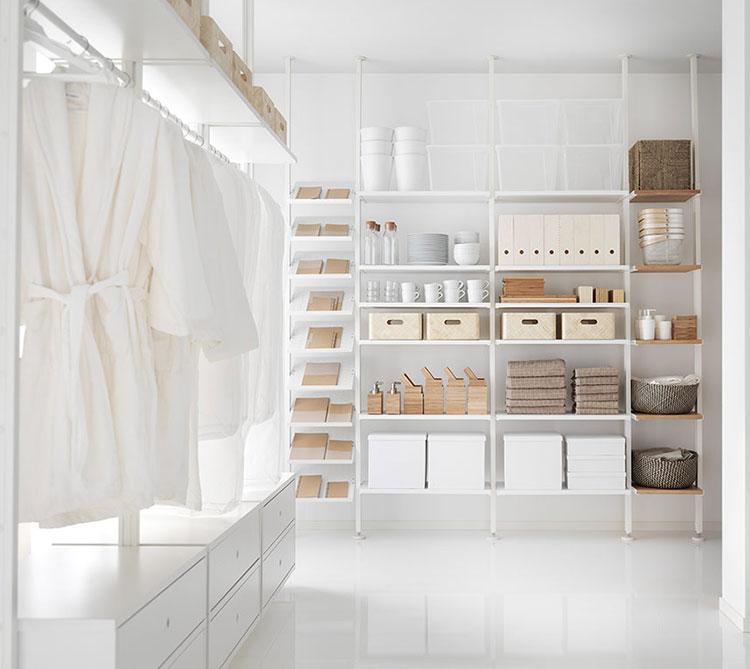 Idee per progettare una cabina armadio Ikea n.07
