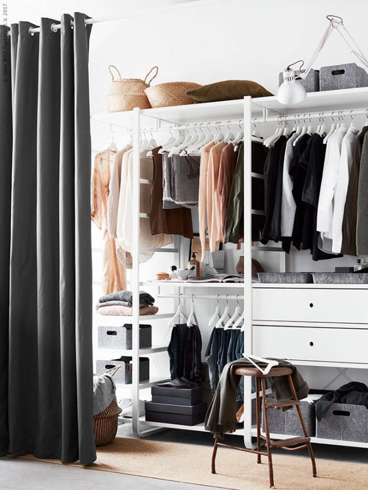 Idee per progettare una cabina armadio Ikea n.11