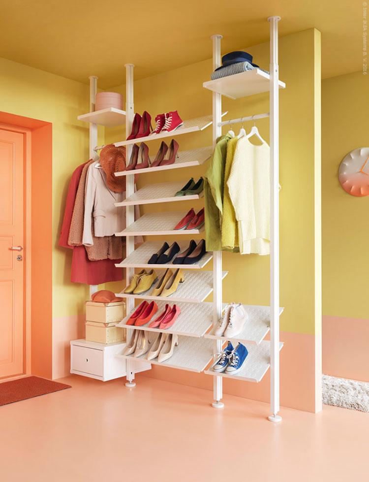 Idee per progettare una cabina armadio Ikea n.12
