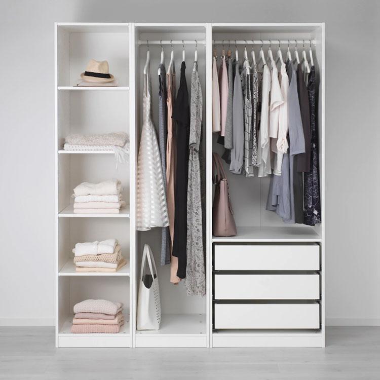 Cabina armadio Ikea con sistema Pax n.01