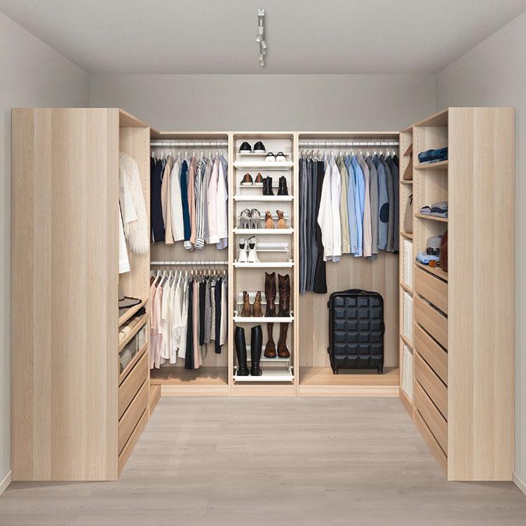Cabina armadio Ikea con sistema Pax n.03